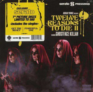 'Get The Money feat. Vince Staples / Powerful One b/w Serato Control Tone' by Ghostface Killah & Adrian Younge