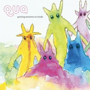 Painting Monsters On Clouds by Qua