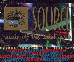Source Records 1-6 Music of the Avant Garde, 1968-1971 by Various (Alvins Curran & Lucier plus loads of other avant-people)