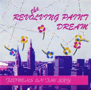 'Flowers In The Sky' by The Revolving Paint Dream