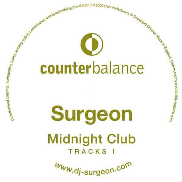 'Midnight Club Tracks I' by Surgeon