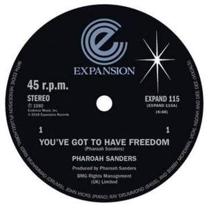 'You've Got To Have Freedom / Got To Give It Up' by Pharoah Sanders