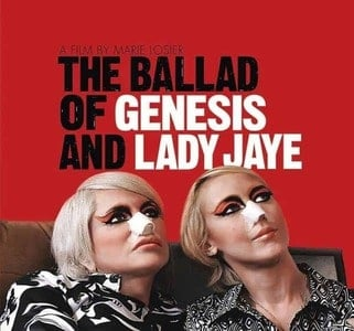 'Music From The Motion Picture: The Ballad Of Genesis & Lady Jaye' by Various Artists