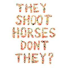 'Pick Up Sticks' by They Shoot Horses Don't They