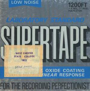 'Preservation Tapes' by Bruce Haack