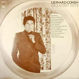 'Greatest Hits' by Leonard Cohen