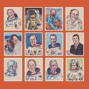 '12 Astronauts' by Darren Hayman