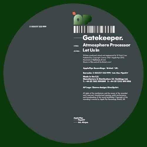 'Atmosphere Processor / Let Us In' by Gatekeeper