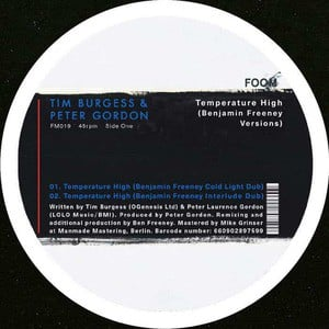 'Temperature High (Benjamin Freeney Versions)' by Tim Burgess & Peter Gordon