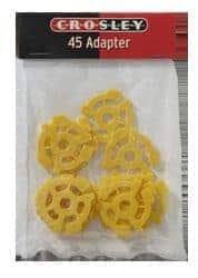 45rpm centre adaptors by Crosley