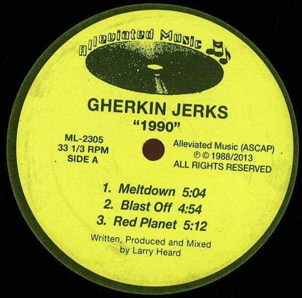 '1990 EP' by Gherkin Jerks