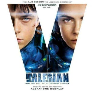 'Valerian And The City Of A Thousand Planets' by Alexandre Desplat