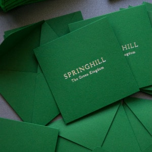 'Springhill' by The Green Kingdom