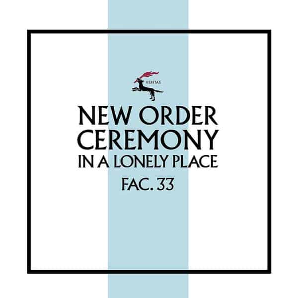 'Ceremony (Version 2)' by New Order