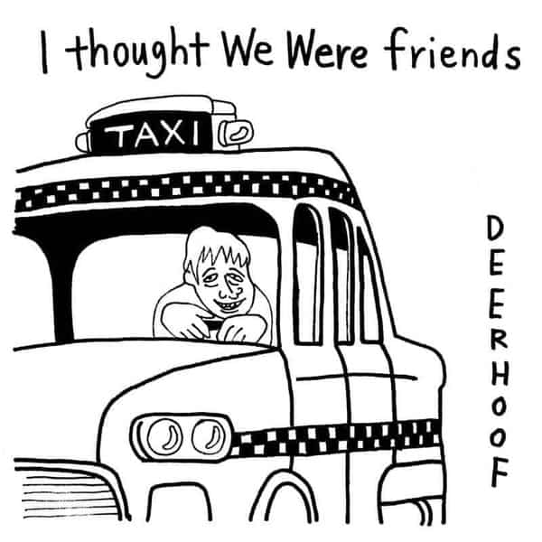 'I Thought We Were Friends' by Deerhoof