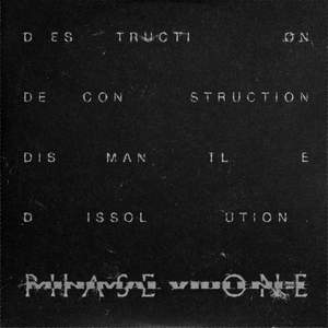 'DESTROY ---> [physical] REALITY [psychic] <--- TRUST Phase One' by Minimal Violence
