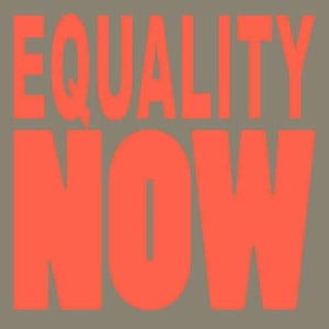 'EQUALITY NOW' by Peder Mannerfelt