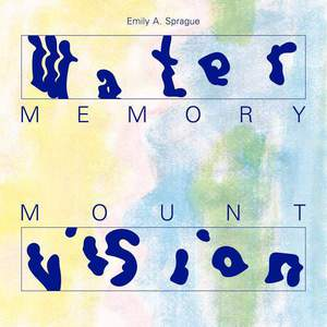 'Water Memory / Mount Vision' by Emily A. Sprague