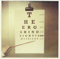 Hindsight is 20/20, My Friend by The Ergs