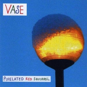 'Pixelated Red Squirrel' by Vase