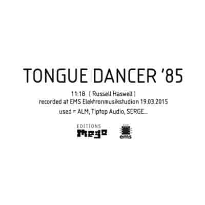 'Tongue Dancer '85' by Russell Haswell