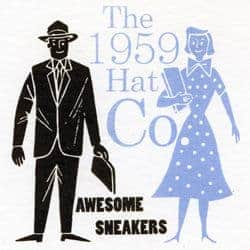Awesome Sneakers by The 1959 Hat Company