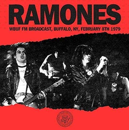 'WBUF FM Broadcast, Buffalo NY, February 8th 1978' by The Ramones