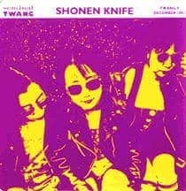 Space Christmas / Bear Up Bison by Shonen Knife