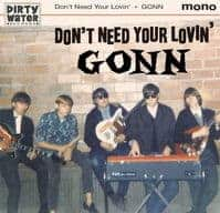 Don't Need Your Lovin' / Death of an Angel by Gonn