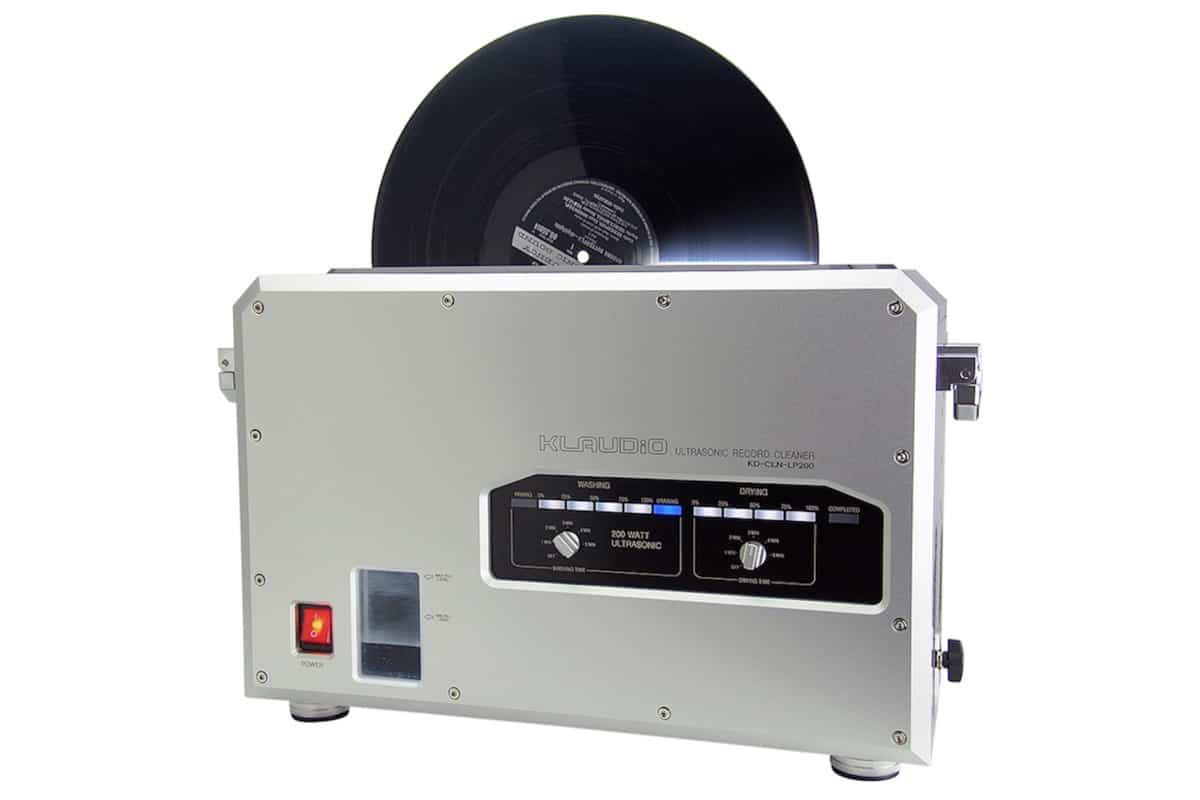 Klaudio Record Cleaning Machine